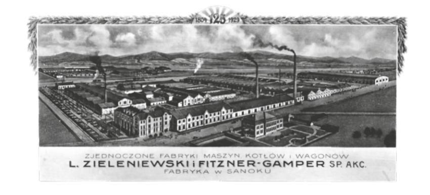 Fabryka z okresu międzywojennego