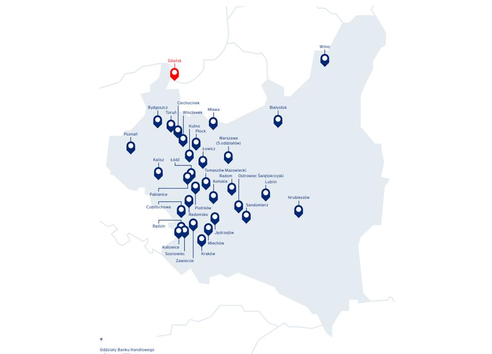 Oddziały Banku Handlowego w Polsce w okresie międzywojennym