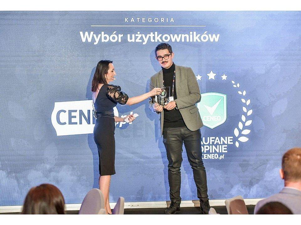 Rafał Urtate na gali wręczenia nagród Ceneo.pl