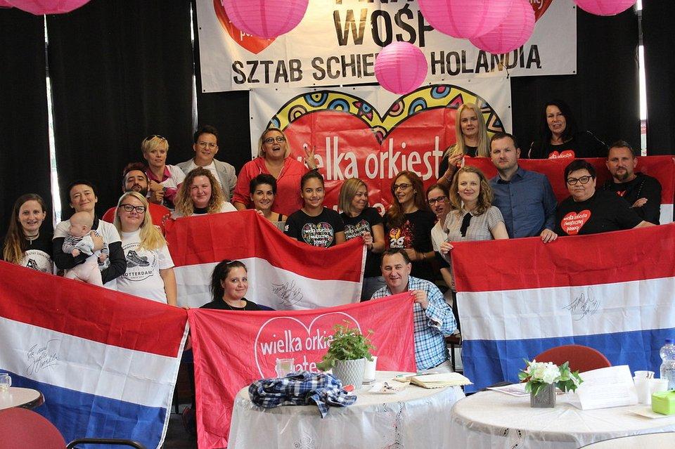 fot. Sztab Holandia/materiały WOŚP