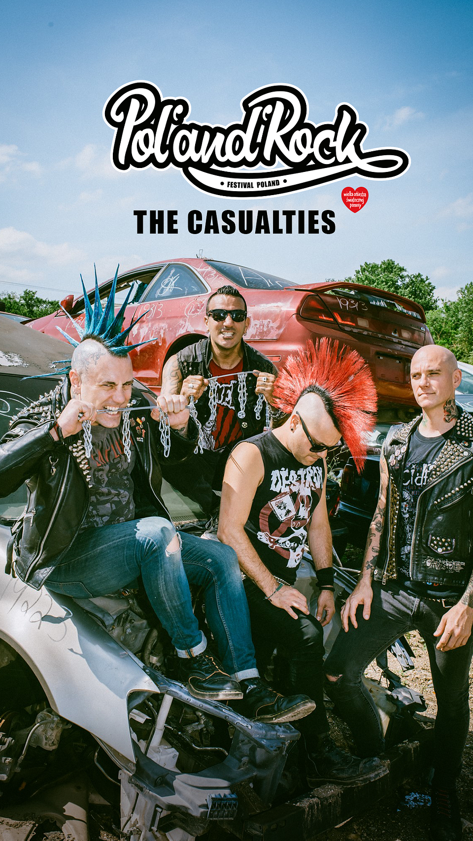 The Casualties grają drapieżnego, klasycznego punka. Zdjęcia: materiały prasowe zespołu.