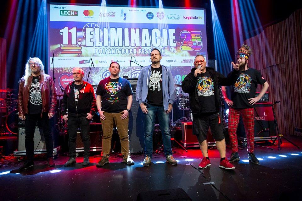 Jury Eliminacji do Pol'and'Rock Festival/fot. Michał Kwaśniewski