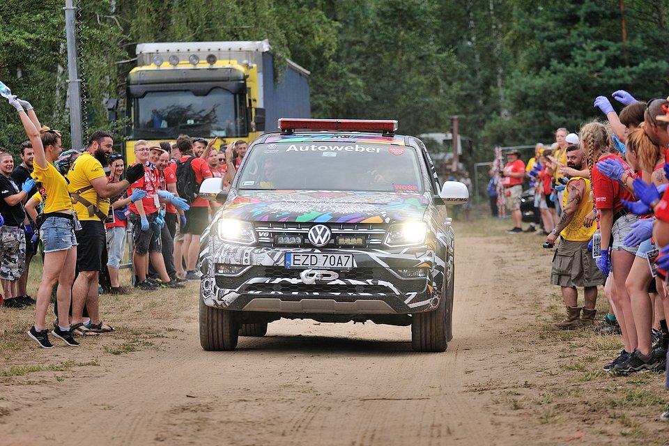 Flota VW Autoweber na Najpiękniejszym Festiwalu Świata / fot. Paweł Krupka