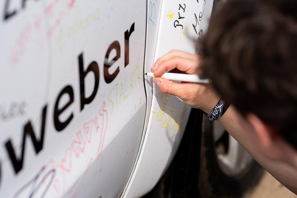 Flota VW Autoweber na Najpiękniejszym Festiwalu Świata / fot. Damian Jędrzejewski
