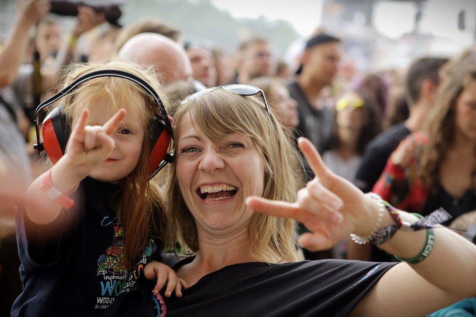 Kolejne pokolenia przyjeżdżają na Pol'and'Rock Festival / fot. Igor Kohutnicki