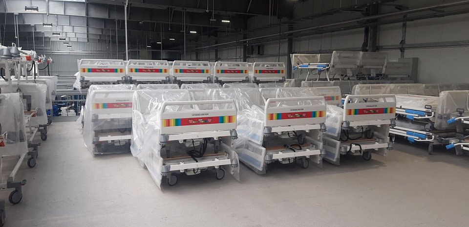 ICU beds are going to be delivered to isolation hospitals across Poland.