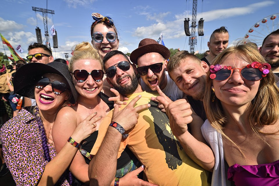 Revellers at the festival. photo Paweł Krupka
