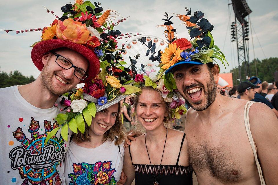 Festival-goers. photo by Marcin Michon