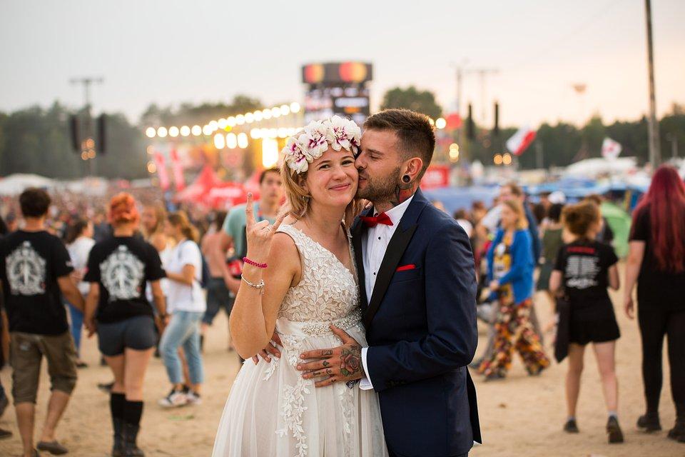 Festiwalowa miłość. fot. Basia Lutzner