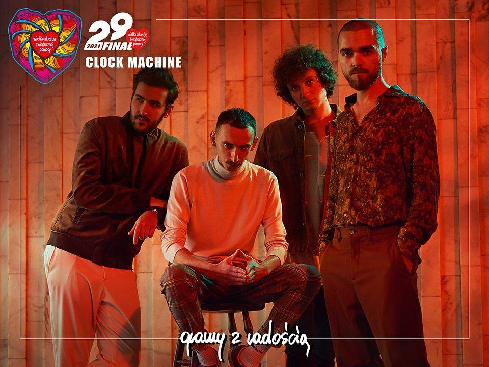 Clock Machine. fot. materiały prasowe zespołu