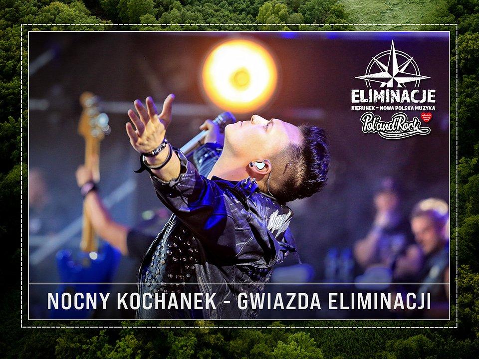 Krzysiek Sokołowski, frontman Nocnego Kochanka. fot. Igor Kohutnicki
