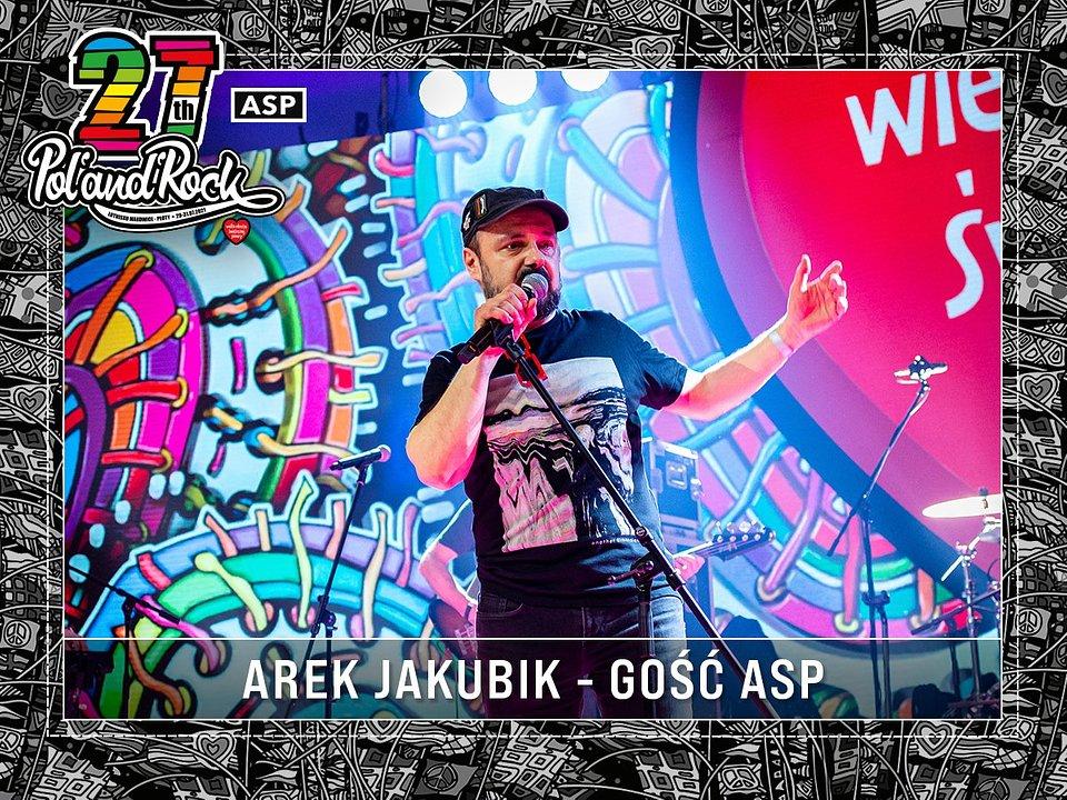 Arkadiusz Jakubik na Finale WOŚP. fot. Michał Kwaśniewski