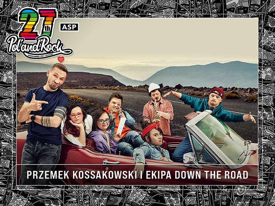 Przemek Kossakowski i ekipa