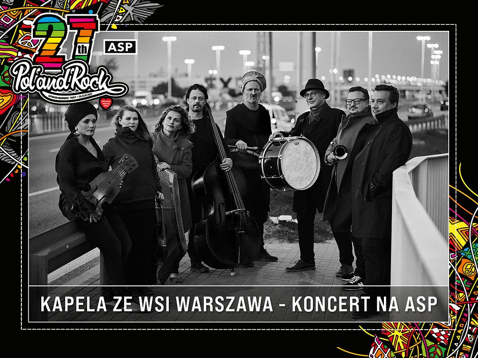 Kapela ze Wsi Warszawa. fot. Radek Polak