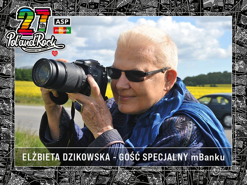 Elżbieta Dzikowska - gość specjalny mBanku. fot. materiały prasowe