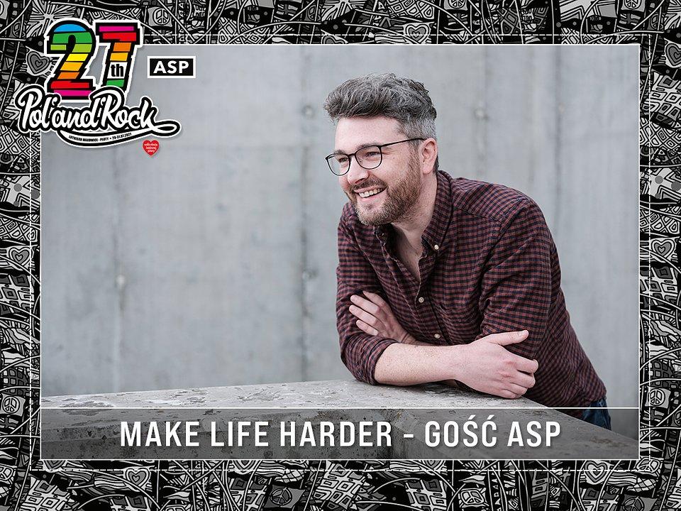 Jakobe Mansztajn - Make Life Harder. fot. Szymon Szcześniak