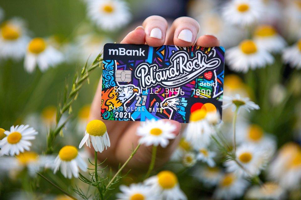 Limitowana karta mBank. Fot. Lucyna Lewandowska