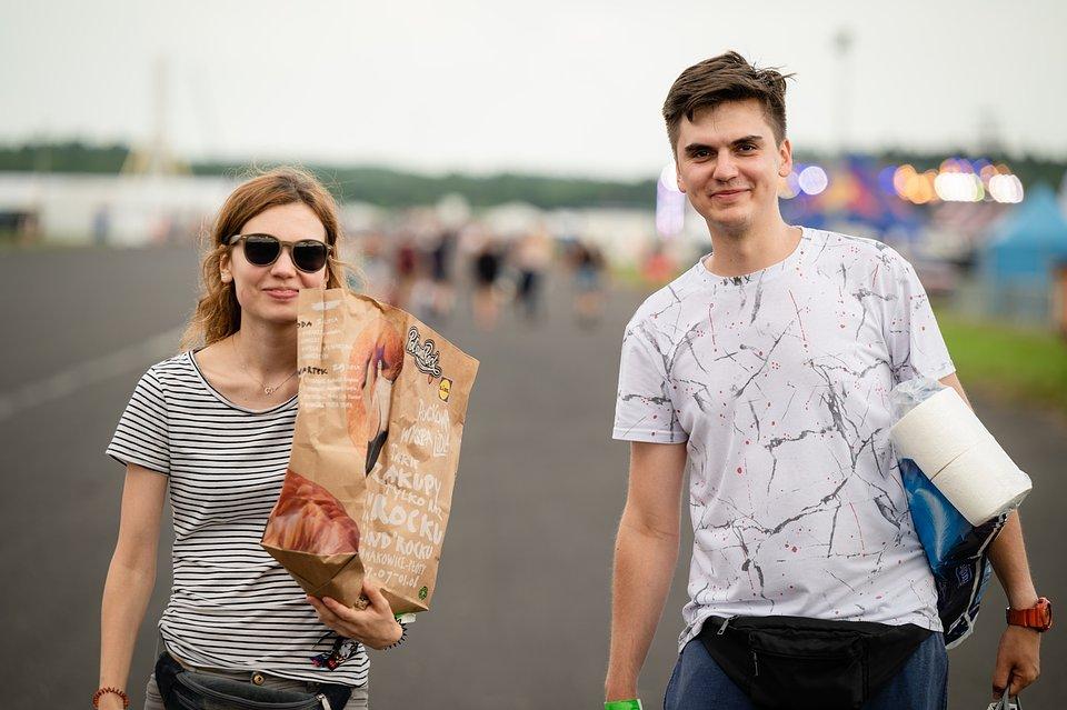 Papierowe torby na zakupy w Lidlu, fot. Marcin Michoń