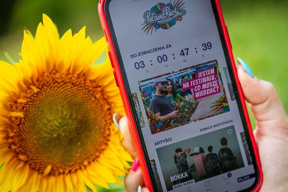 Festival app. photo by Michał Kwaśniewski