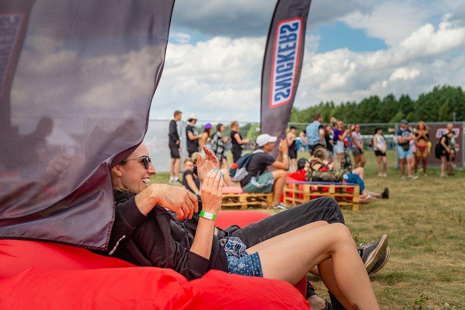 Strefa Snickers® na 27. Pol'and'Rock Festival, fot. Paweł Krupka