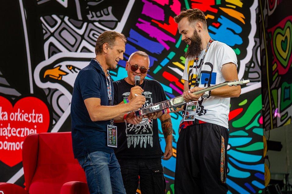 Andrzej Chyra na Scenie ASP, fot. Paweł Kupka