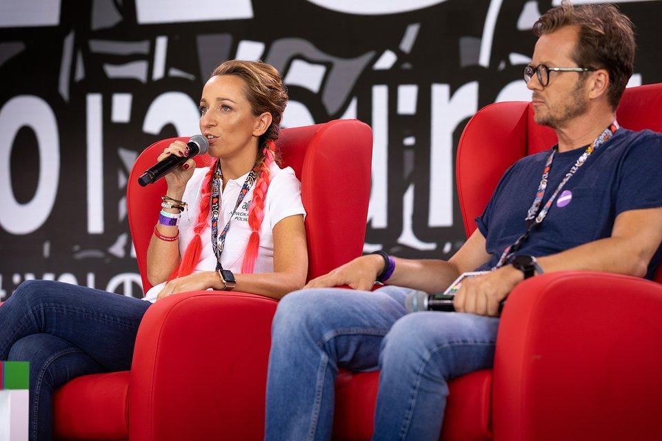 Sylwia Gregorczyk-Abram & Michał Wawrykiewicz. photo by Lucyna Lewandowska
