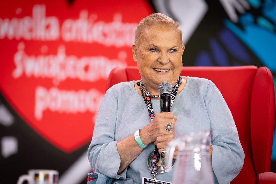 Elżbieta Dzikowska, tot. Lucyna Lewandowska
