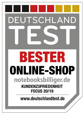 Auszeichnung zum Besten Online Shop 2019