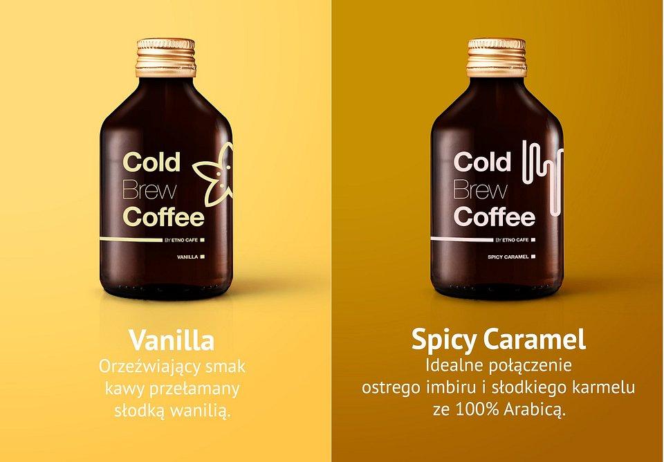 Nowe smaki Cold Brew Coffee