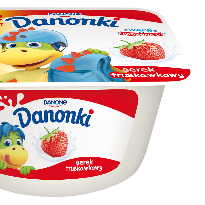 Danonki Single cheese Truskawka 115g.png