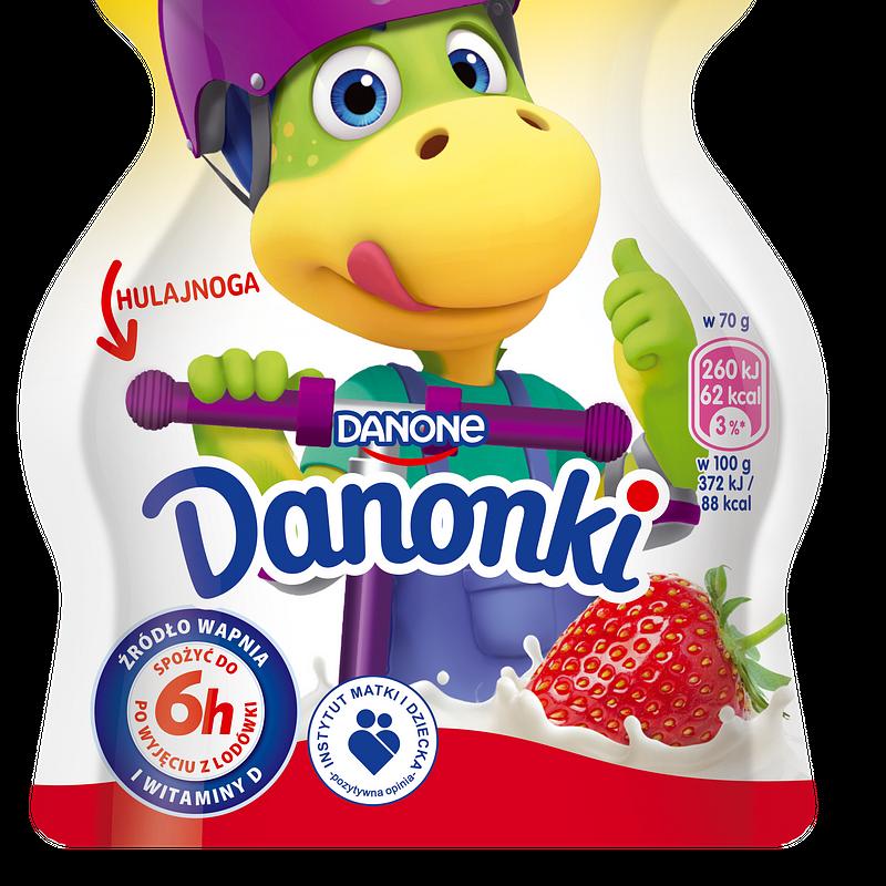 Danonki Pouch 70g Truskawka.png