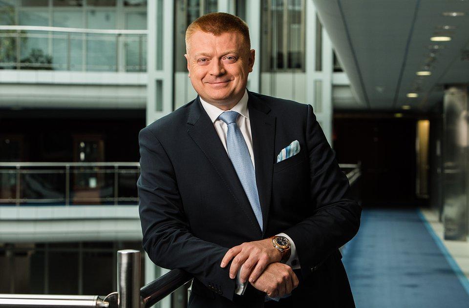 Michał Popiołek, dyrektor zarządzający ds. bankowości globalnej i inwestycyjnej.