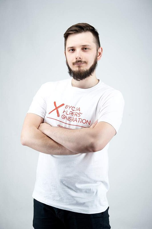Sebastian - studencki Lider  Rzeszowa,  Dawca szpiku