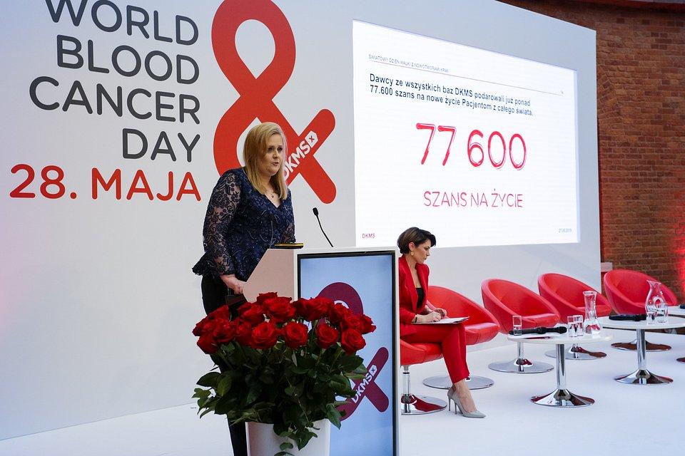 Ewa Magnucka-Bowkiewicz, Prezes Fundacji DKMS