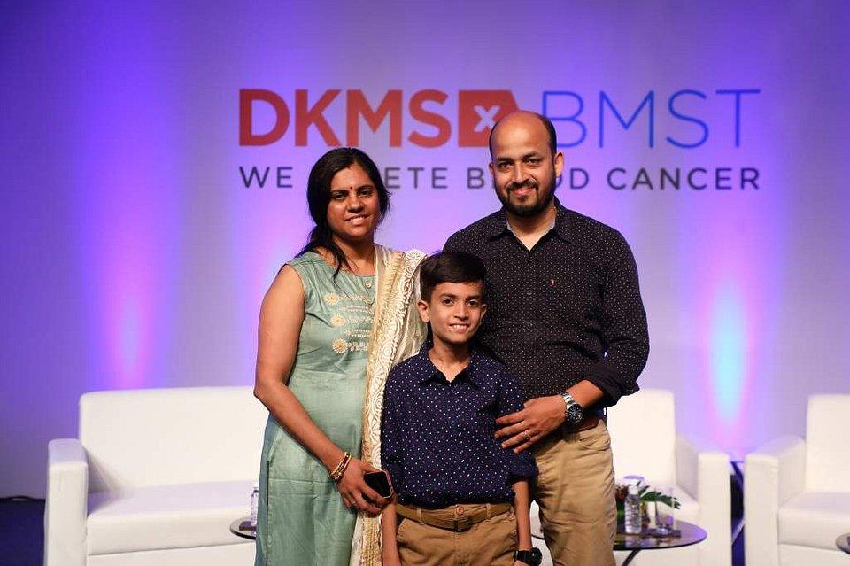 Chirag - Pacjent z Indii wraz z rodzicami