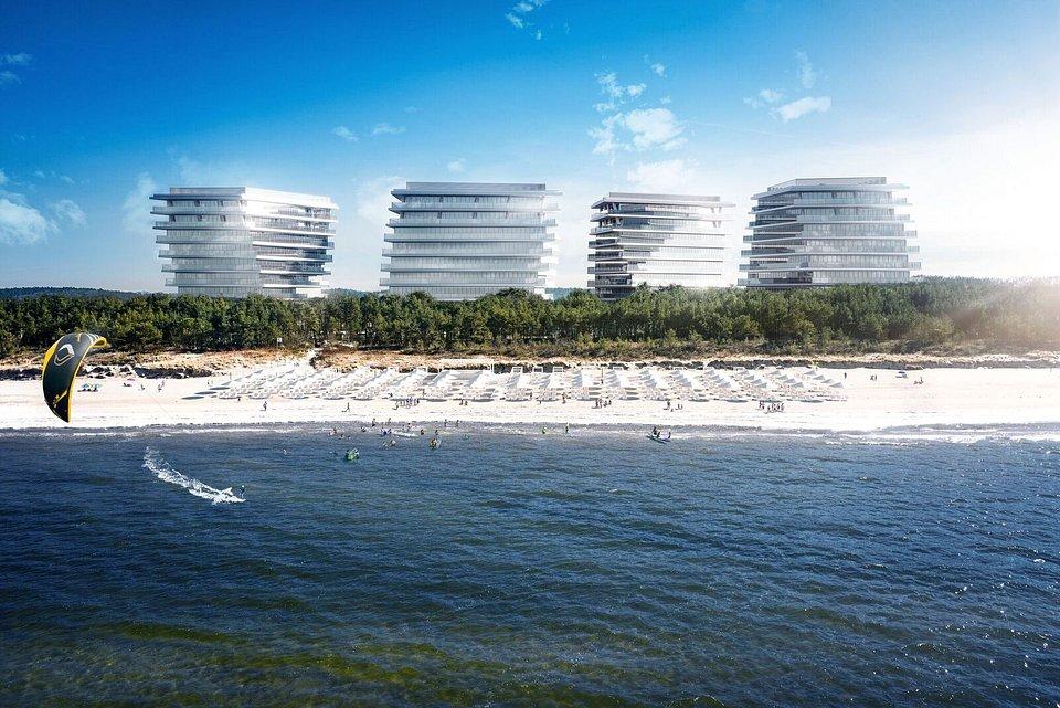 Wizualizacja Wave Apartments