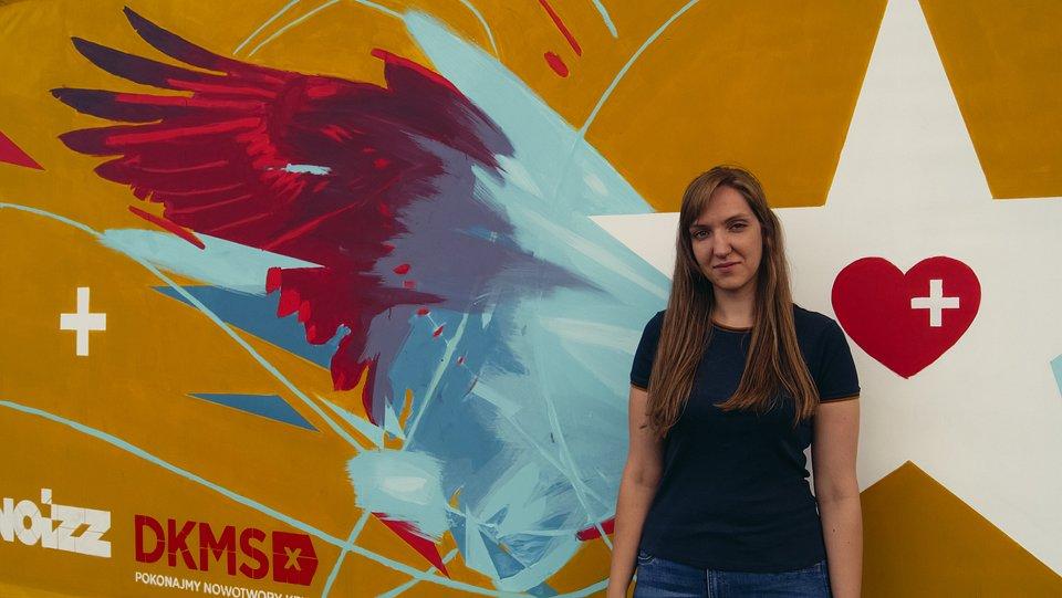 Aleksandra Ficek, Dawca faktyczny, wrocławski mural