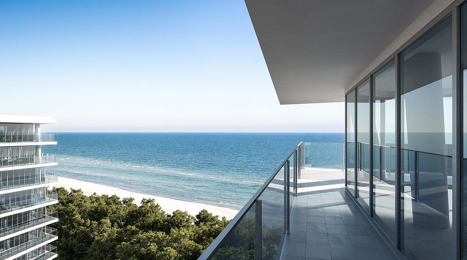 Wizualizacja - widok z balkonu