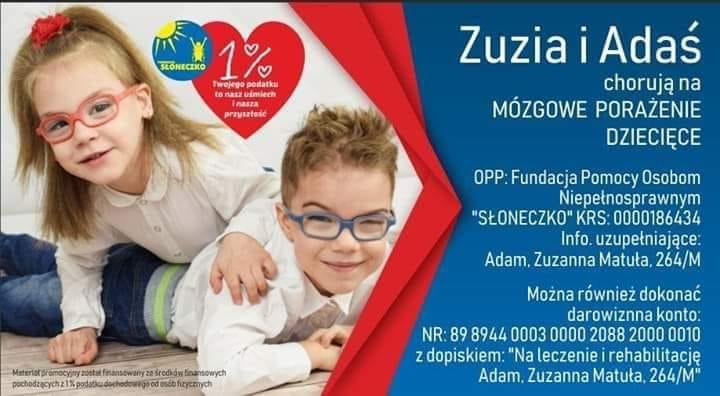 Serca CH Pogoria biją dla Zuzi i Adasia.jpg