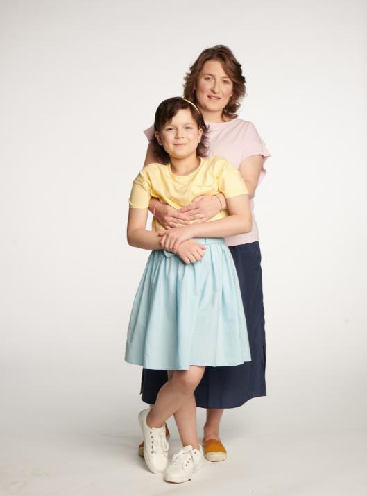 Hania z Mamą