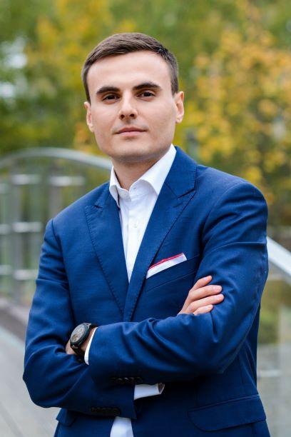 Łukasz Sot, współwłaściciel marki Cateromarket.pl