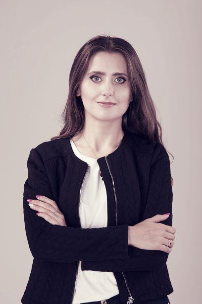 Na zdjęciu Agnieszka Stankiewicz-Kierus, szefowa Wydawnictwa Kobiecego