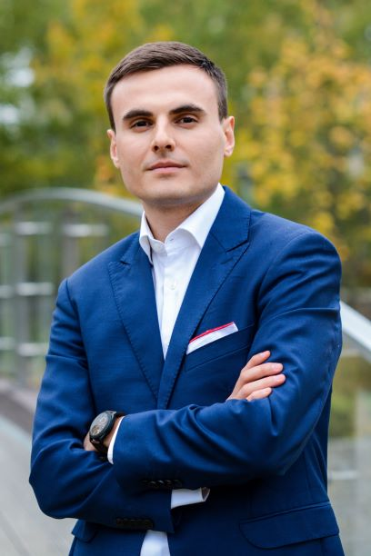 Łukasz Sot, współwłaściciel Cateromarket.pl