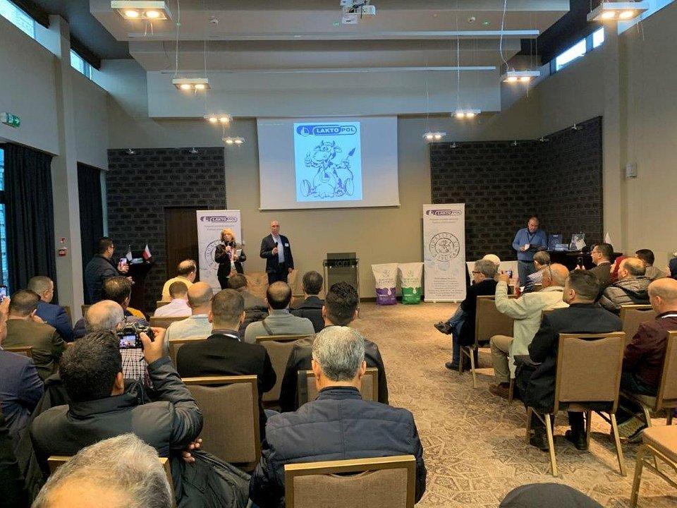 Wizyta przedstawicieli algierskiej firmy Onil w Laktopolu w Suwałkach