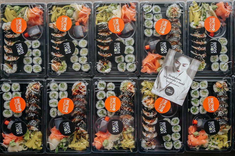 KOKU Sushi z dowozem