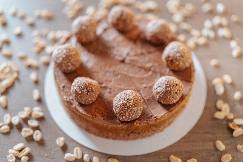 Ciasto bez cukru Lion Czekoladowy - Fit Cake