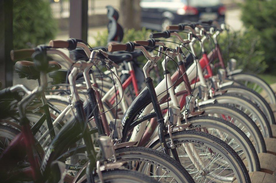 W Hotelu Żubrówka**** Białowieża rowery są dostępne dla gości za darmo