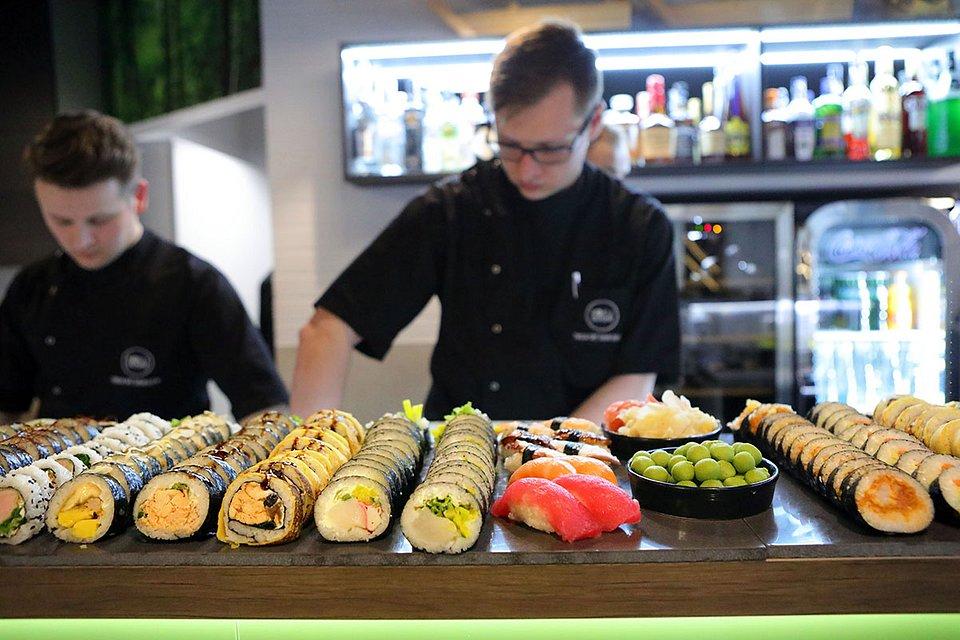 Noc sushi w Białymstoku