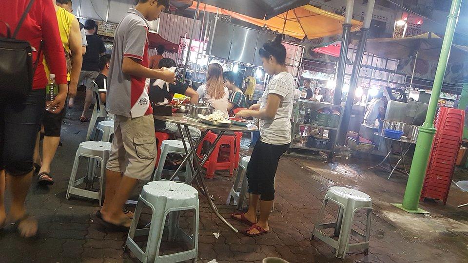 Street food w Kuala Lumpur