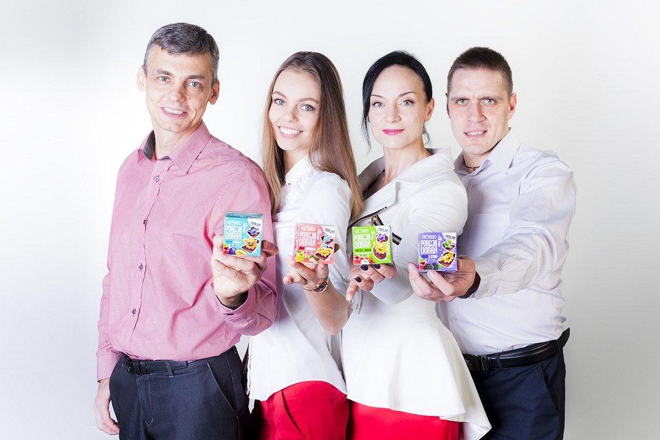 Na zdjęciu twórcy marki, od lewej: Giennadij Ananczikow, Anna Ananczikowa, Natalia Stsepantsova, Jan Abadowski